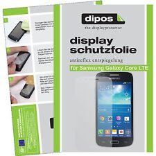2x dipos Samsung Galaxy Core LTE matte Displayschutzfolie Antireflex Testsieger
