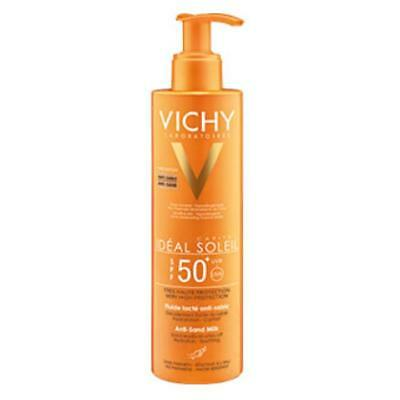 VICHY Ideal Soleil Anti Sand Fluid LSF 50 200ml PZN 12502669 + Proben