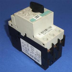 Siemens Sirius 3r 1 1 1 6a Manual Motor Starter 3rv1021