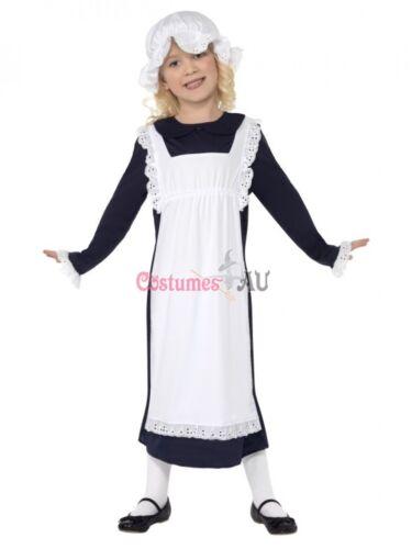 Miss Historical Victorian Poor Girl Olden Day School Costume Girls Book Week