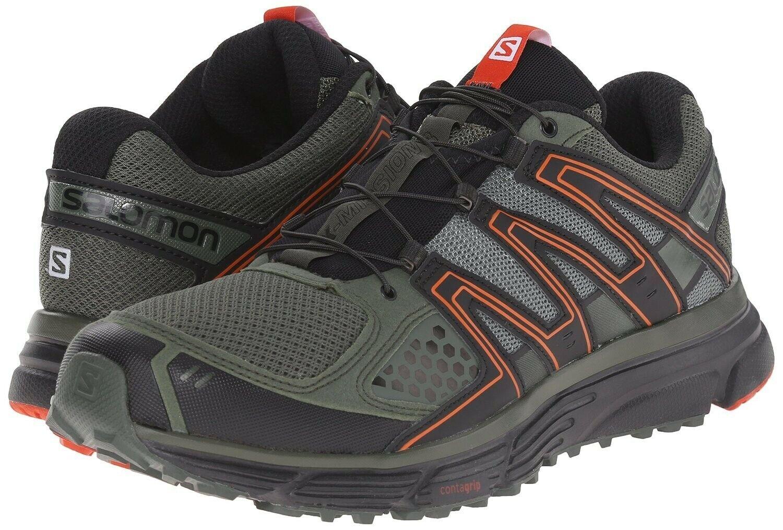 Naranja Running Zapatos 3 Salomon Noche X Hombre Trail Misión 9 wXOkiuPZT