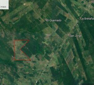 Terreno de 496 hectáreas a 3km de la carretera federal Villahermosa escarcega por el castaño