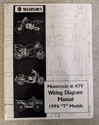 """1996 Suzuki Motorcycle & ATV Wiring Diagram Manual """"T ..."""