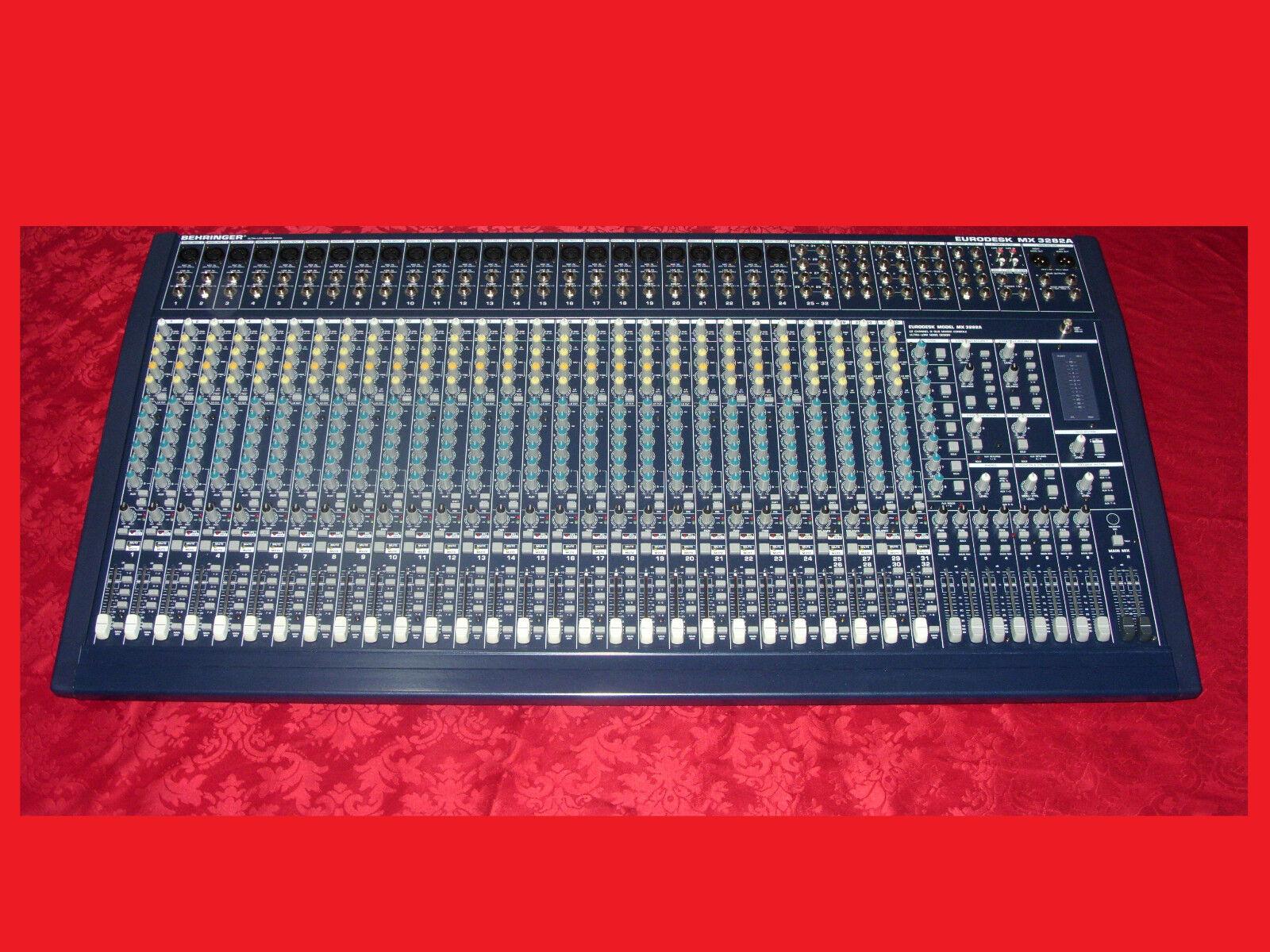 Behringer Eurodesk MX 3282 A Neuwertig