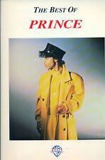 Prince Songbook and the Revolution Purple Rain book ARTIST piano guitar Hits