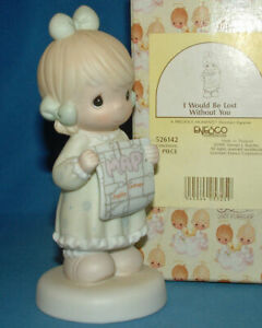 Precious-Moments-Figurine-526142-ln-box-I-Would-Be-Lost-Without-You