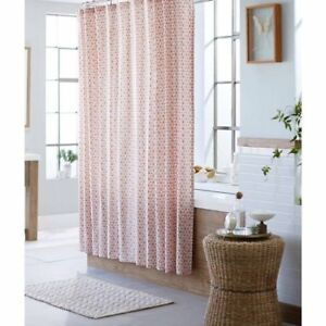 Shower Curtain Coral