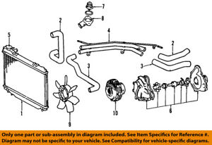 image is loading toyota-oem-91-97-previa-engine-water-pump-