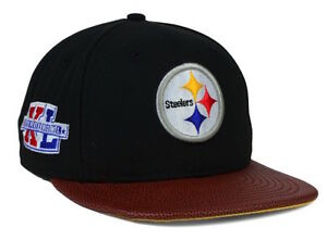 9378f3277 Image is loading VINTAGE-New-Era-Pittsburgh-Steelers-NFL-034-Super-
