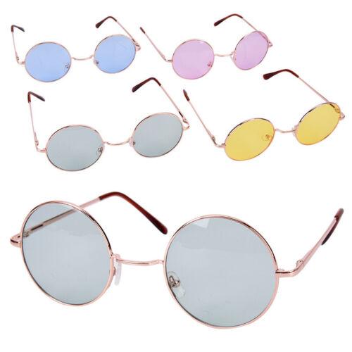 oversized round  frame glasses - amycoz