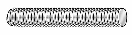 "ZORO SELECT ZS6.014020034.PL.DAR.GR010 1//4/""-20 x 3//4/"" Plain 316 Stainless Steel"