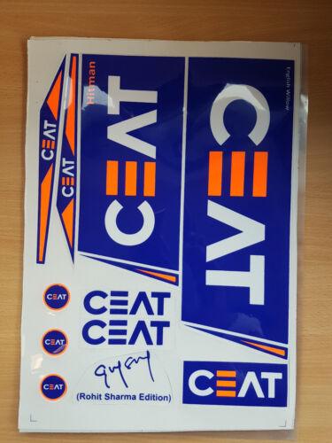 CEAT HITMAN ROHIT SHARMA EDITION CRICKET BAT STICKERS ONE STICKER SALE