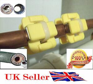 4 Coppie x Acqua Ammorbidente Anticalcare Magnetico Condizionatore Fai da Te UK