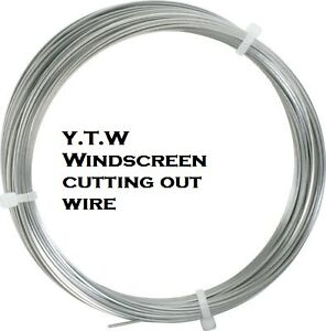 Windscreen Cutting Out Square Wire 25m
