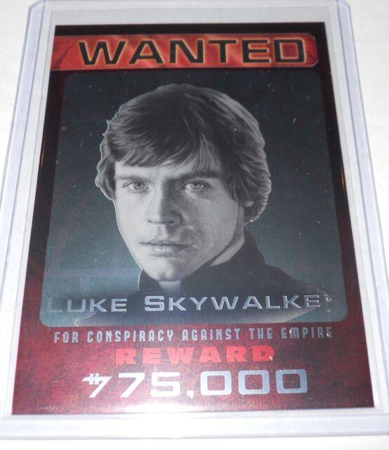 Star Wars Citizens Alert 10 0f 10 Insert Trading Card Luke Skywalker