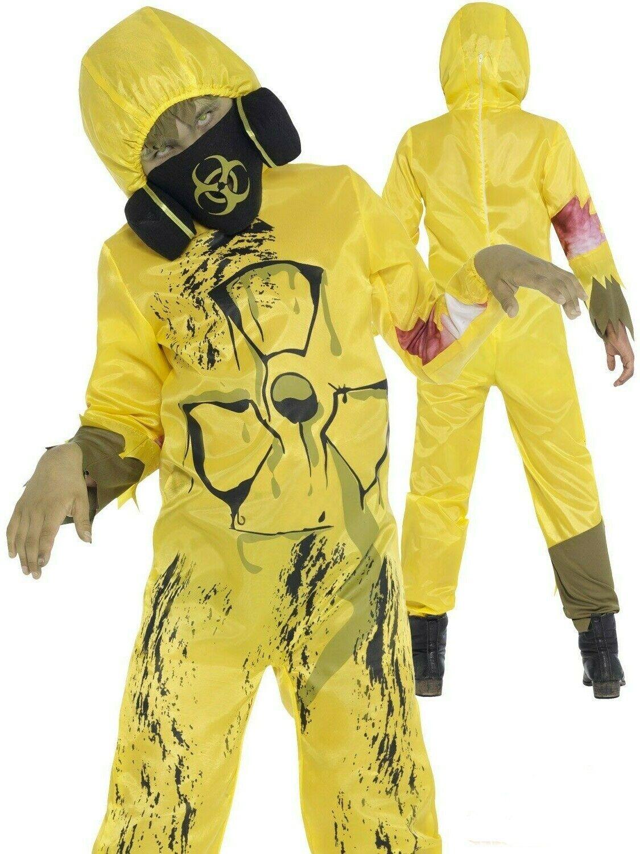 Kids Toxic Waste Costume - Fancy Dress Hazard Halloween Scary Party Horror
