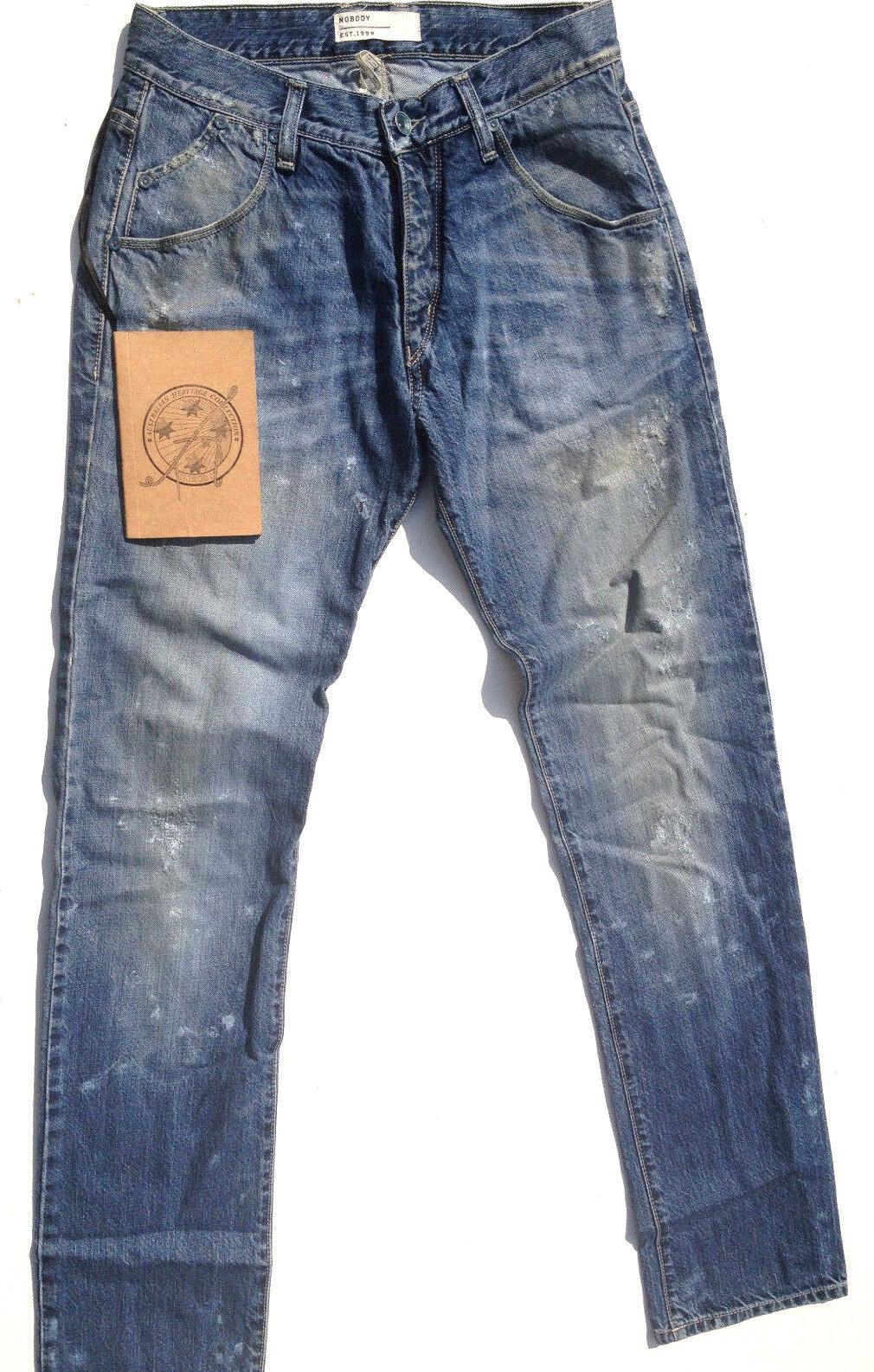 Nobody Destroy Jeans 'COLONIAL JEAN' Size W29 L34 AU11 Trawl NEW RRP 319 Womens