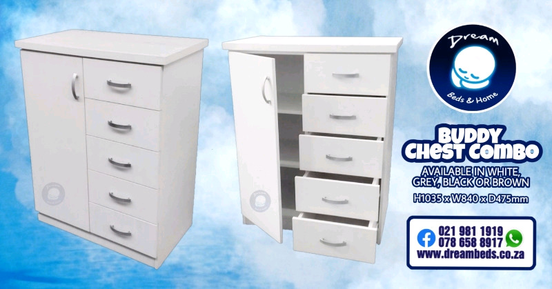 Chest combos and drawers - Brand New