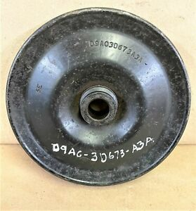 1994-97 Ford F250-F350 7.3L used power steering pump pulley F5TE-3D673-AA