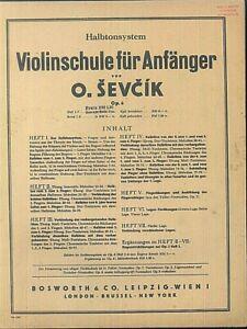 O-SEVCIK-Violinschule-fuer-Anfaenger-Heft-2