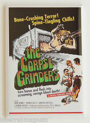 The Corpse Grinders FRIDGE MAGNET (2.5 x 3.5 inches) movie poster horror