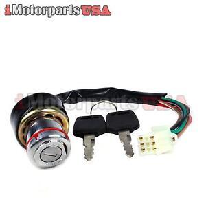 ignition key switch 6 wire kazuma meerkat 50 falcon redcat ... goodman heat pump wiring diagram 6 wire