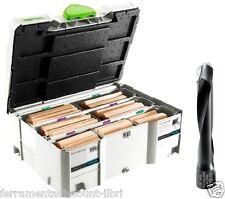 FESTOOL ASSORTMENT 498205 DS/XL D12/D14 128x BU for Joining System DF 700 XL