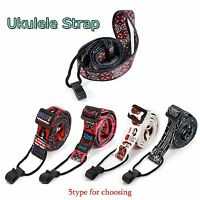 Adjustable Ukulele Strap Sling With Hook For Ukulele Guitar Perfect Taste Colour