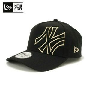 fdceb07d6ca NEW ERA 9FORTY A-Frame Cap BATTALION MLB NYY One Size Black Gold ...