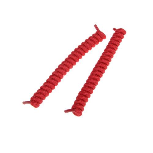 Elastic No Tie Curly Shoe Laces Coiler Elastic Twisty Unisex Fits Kid AndAdultYL