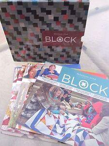 Magazine-Box-Set-2014-MSQC-BLOCK-COLLECTOR-039-S-SET-by-Missouri-Star-Quilt-Co