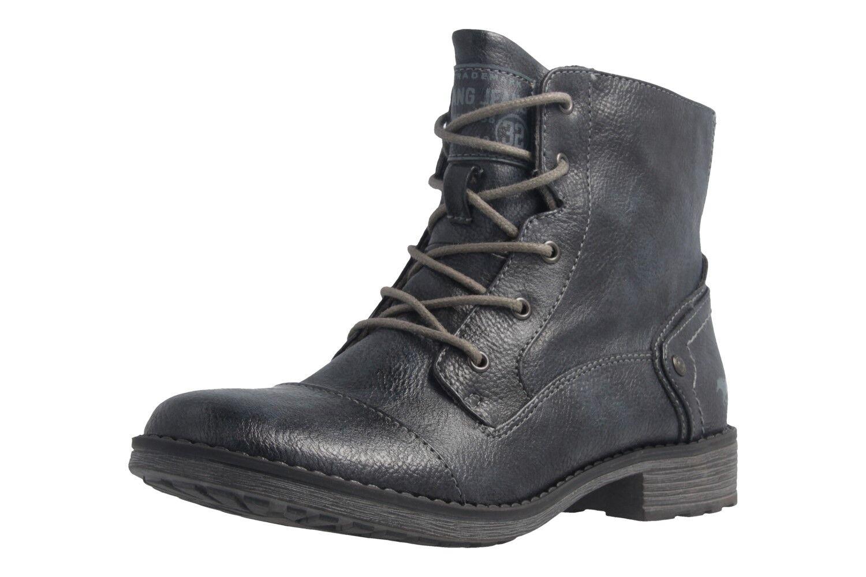 MUSTANG - Damen Stiefel - Blau Schuhe in Übergrößen
