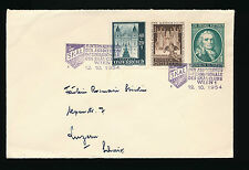 Brief 1954 mit Sonder-Stempel SKAL Int.des Skal-Clubs in Wien (B20)