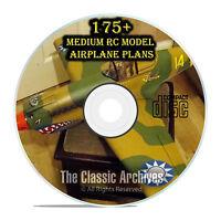 175+ Small & Medium Scale Rc Model Airplane Plans, Military Templates Pdf Cd F57