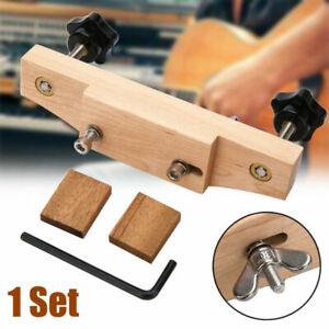 Solid Maple Acoustic Guitar Bridge Installieren Sie das Caul Clamp Guitar