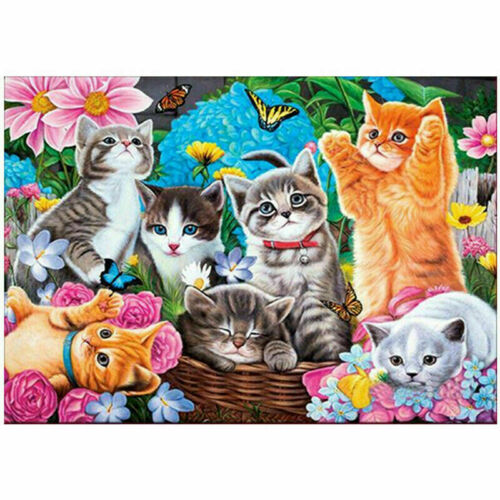 1PCS Special Shaped Diamond Painting DIY 5D Partial Drill Cross Stitch Kits Gift