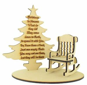 Details About Christmas In Heaven Memorial Gift Remembrance Loved One Christmas Tree Craft