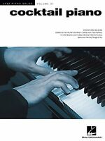 Cocktail Piano: Jazz Piano Solos Series Volume 31 By , (paperback), Hal Leonard on sale
