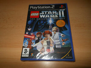PS2-LEGO-STAR-WARS-2-II-The-Original-TRILOGIA-UK-PAL-NUOVO-Sony