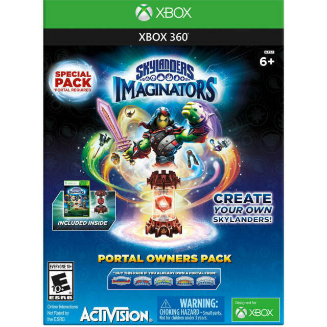 Skylanders Imaginators: Portal Owners Pack Walmart Exclusive (Microsoft  Xbox 360, 2016)