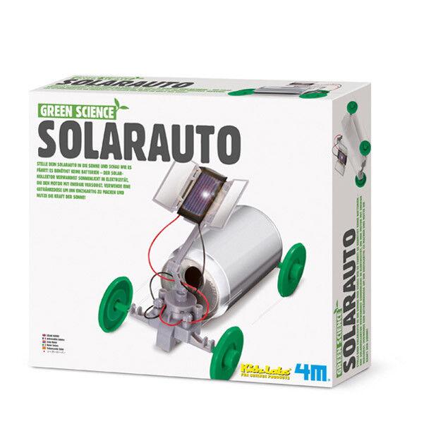 Neu Green Science Solarauto Experimentierset  Baukasten Lernspielzeug !3286
