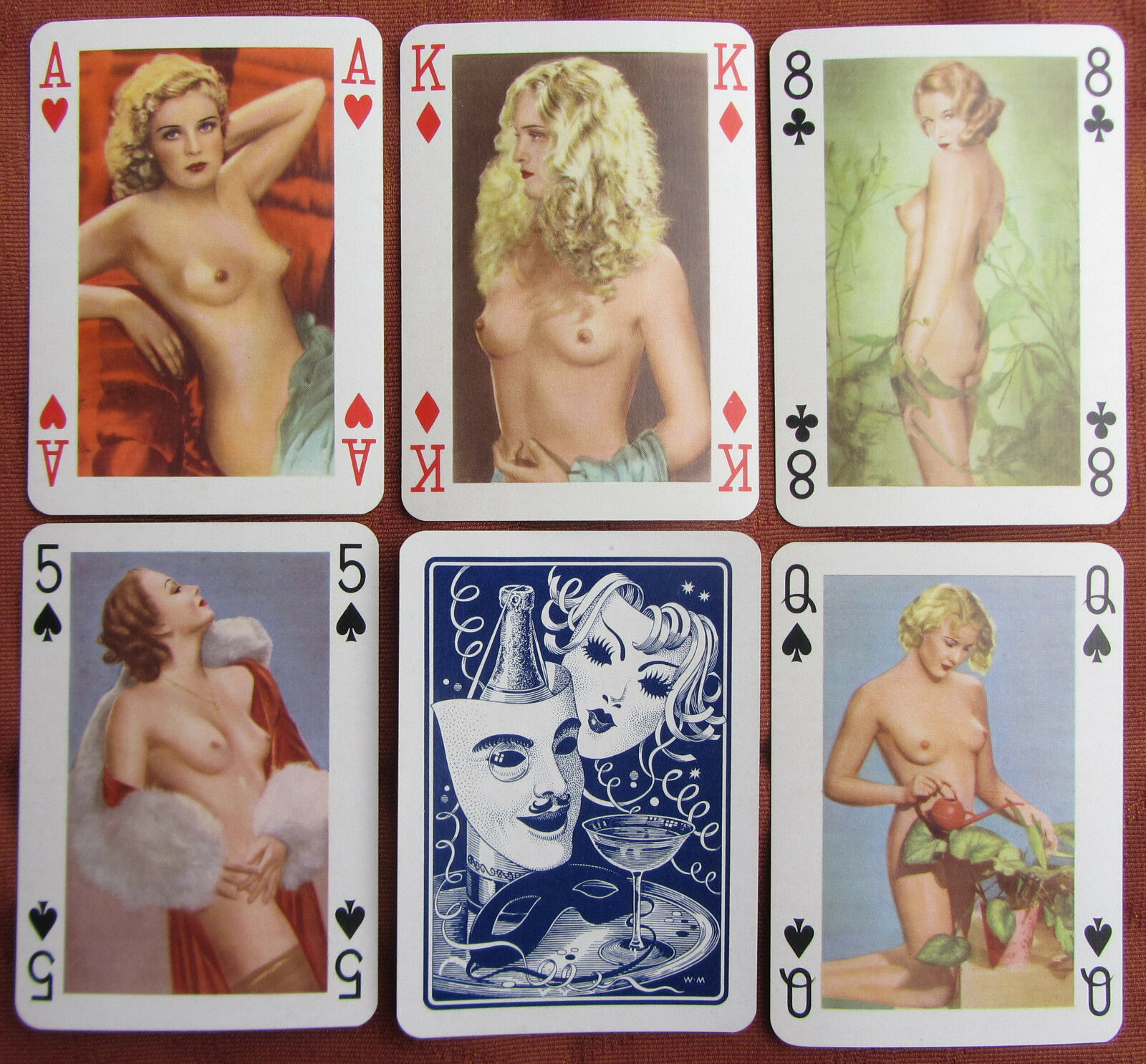 Classic nude playing cards, wikipedia dick