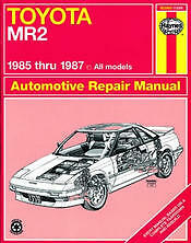 85 87 toyota mr2 haynes repair manual new service book owners shop rh ebay co uk 94 MR2 Hardtop New Toyota MR2