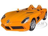 2009 Mercedes Slr Stirling Moss (z199) Orange 1/18 By Minichamps 100038400