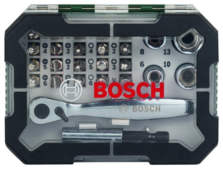 Bosch Clé Cliquet Ensemble de de de 26 Unités Outil Vis Vis 838c9e