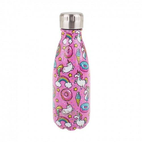 NEW Oasis Insulated Drink Bottle 350ml Unicorn