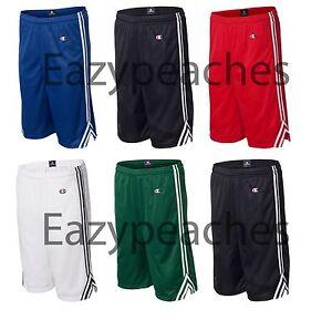 CHAMPION-Mens-S-XL-2XL-9-Lacrosse-dri-fit-Mesh-Sport-BasketBall-Gym-Shorts-8655