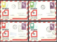Poland 1966 - set of 4 Balloons Post Covers