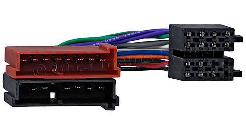 FORD Radioadapter Adapter ISO Radio Kabel Kabelbaum KA