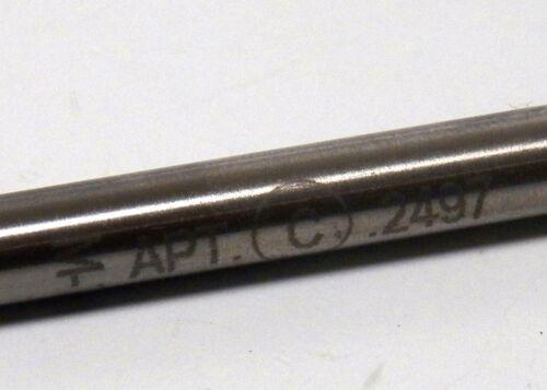 APT Reamer Alvord Polk Tool .2497 M-7 HS ............. 1-3-4